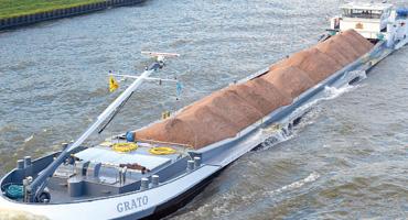 Coating voor gangborden van schepen