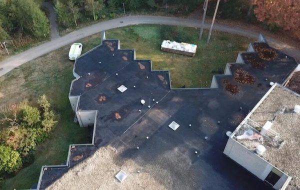hoekig dak renovatie